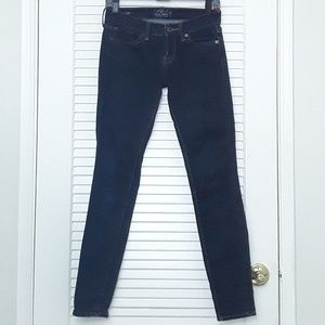 Lucky Brand Charlie Skinny Blue Denim Jeans Pants